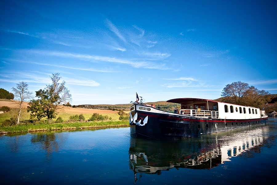 Barging in Burgundy