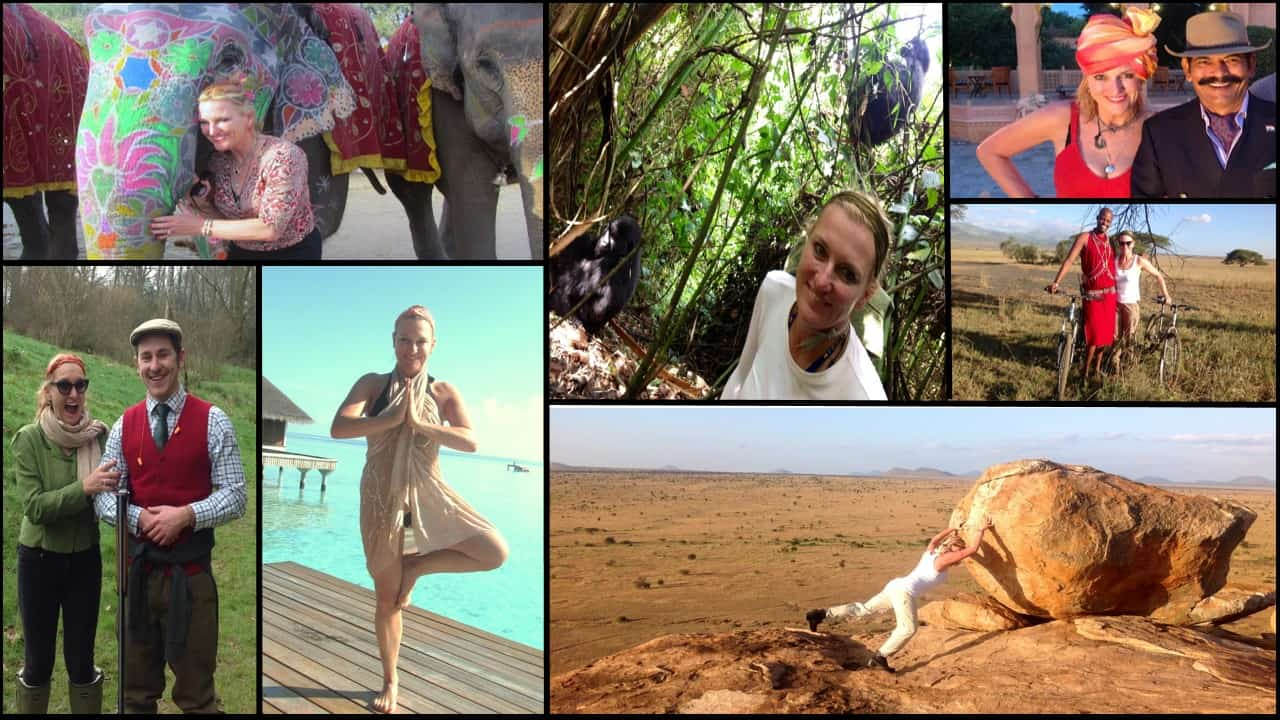 Austin Travel Agent Becca Outdoor Collage