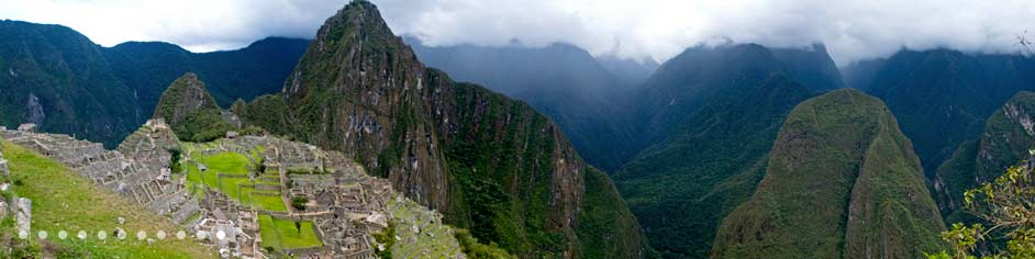 Landscape from the Andes Mountains