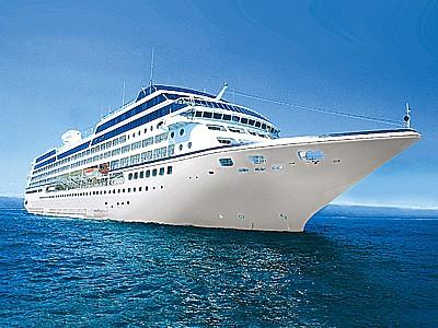 An Azamara cruise ship