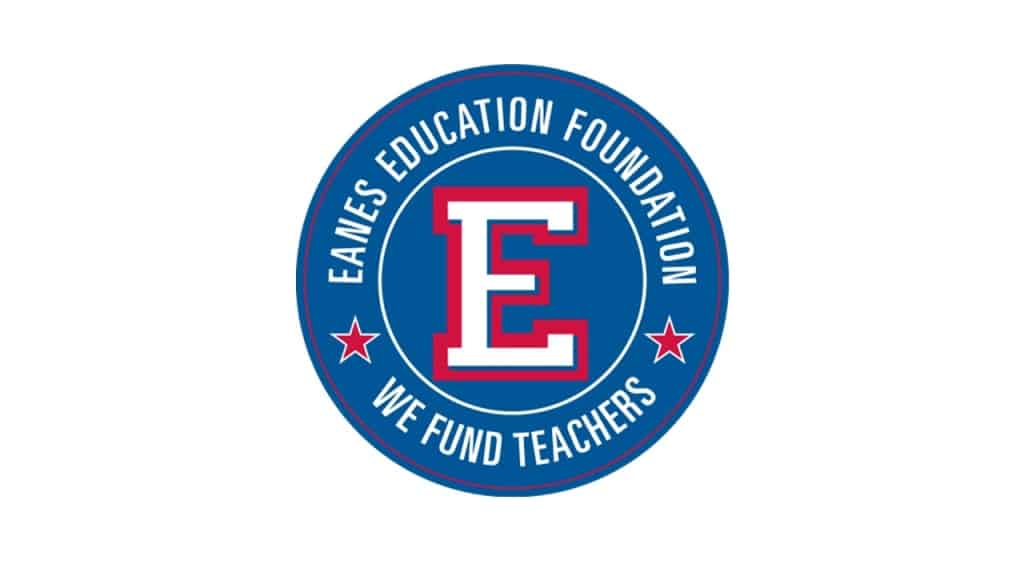 Eanes Education Foundation logo: We Fund Teachers