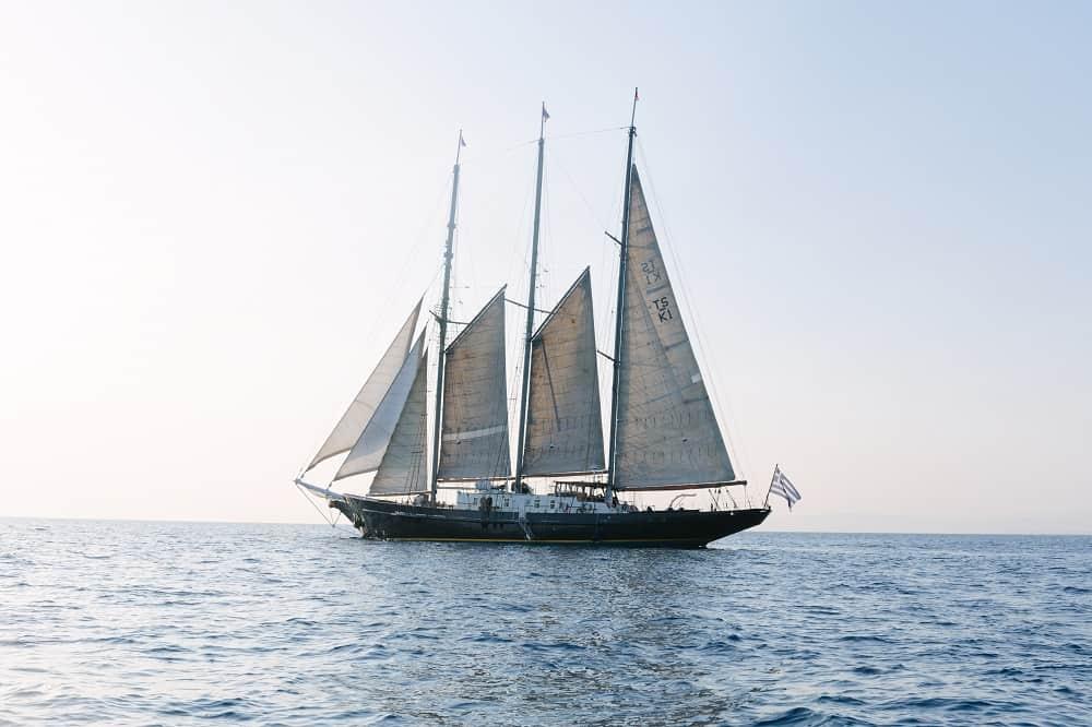 Photo of the Yacht Sir Winston Churchill